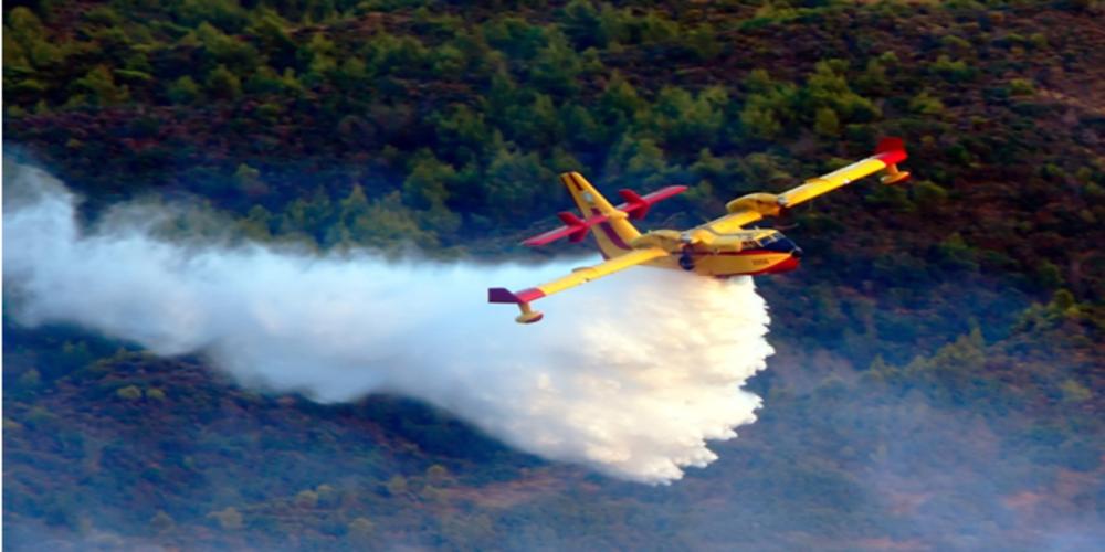 Η αεροπυρόσβεση αργοπεθαίνει στην Ελλάδα