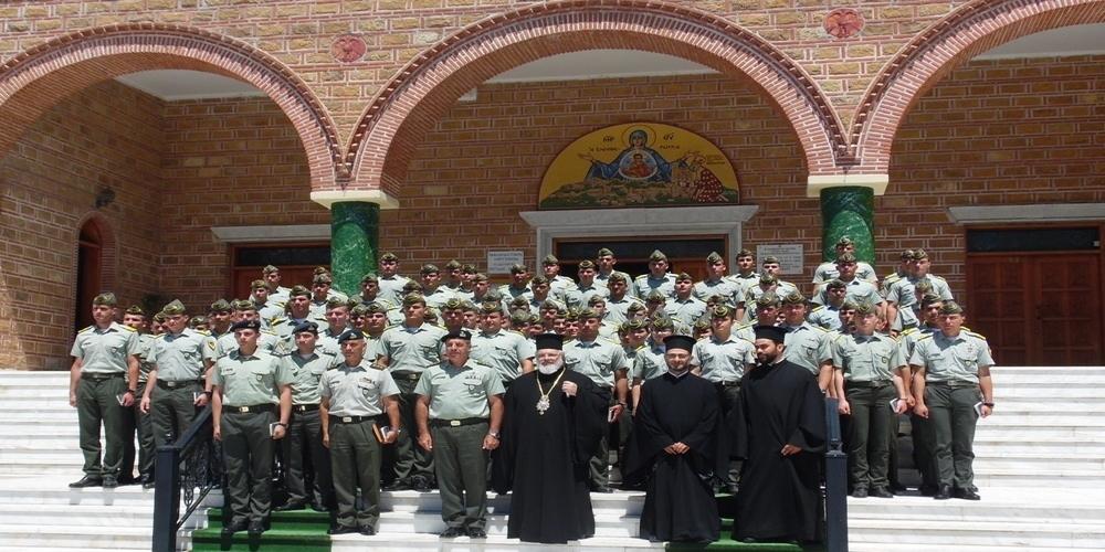 Επίσκεψη των μαθητών της Σχολής Ευελπίδων στην περιοχή της 16ης Μεραρχίας Διδυμοτείχου
