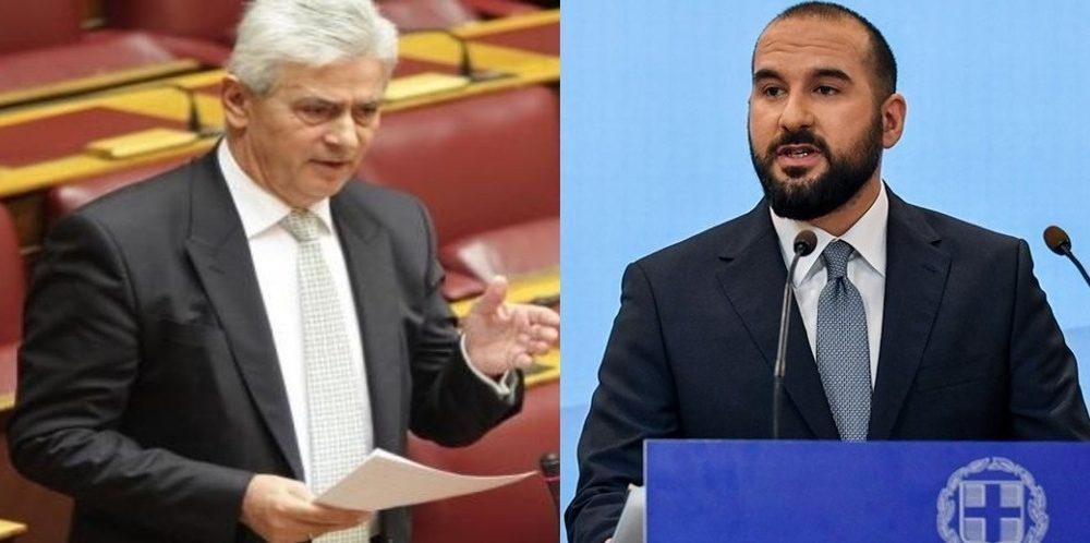 Τζανακόπουλος: Να αποσυρθεί από υποψήφιος ο Δημοσχάκης,που έχει διορισμένο το γιο του στην Βουλή