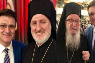 Στην ενθρόνιση του νέου Αρχιεπισκόπου Αμερικής κ.Ελπιδοφόρου ο Αντιπεριφερειάρχης Έβρου Δημήτρης Πέτροβιτς