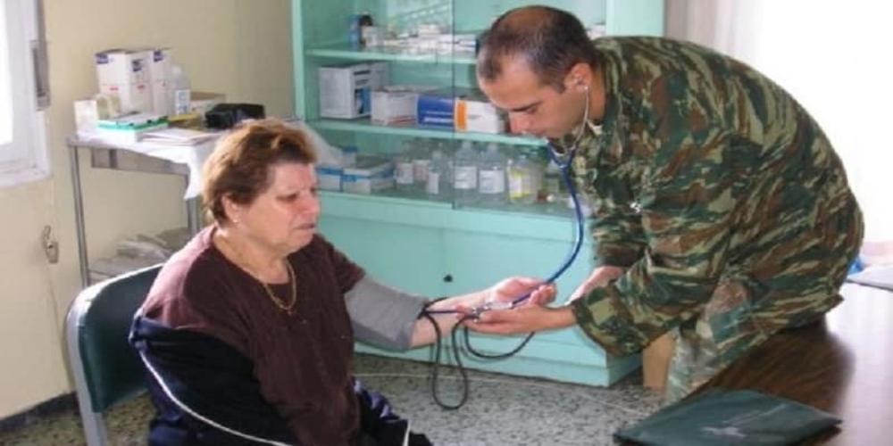 Δωρεάν ιατρικές εξετάσεις από Στρατιωτικό Κλιμάκιο στην Αμφιτρίτη Αλεξανδρούπολης