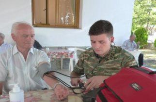 ΔΩΡΕΑΝ ιατρικές εξετάσεις στα Δίκελα, από Ιατρικό Στρατιωτικό Κλιμάκιο