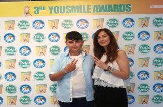 """Διάκριση για 13χρονο μαθητή από το Γυμνάσιο Σουφλίου στο """"3rd YOUSMILE AWARDS"""""""