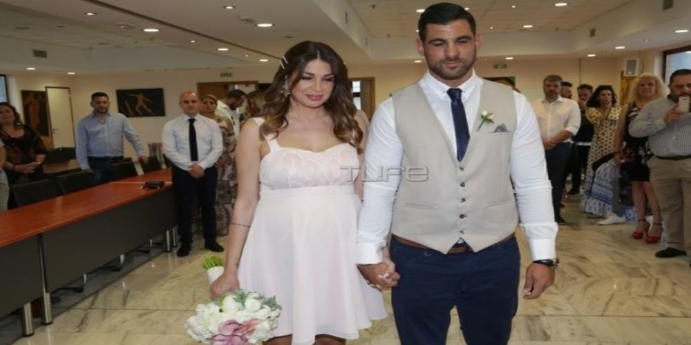 Η συντοπίτισσα μας τραγουδίστρια Ελένη Χατζίδου και ο Ετεοκλής Παύλου παντρεύτηκαν με πολιτικό γάμο (φωτορεπορτάζ)