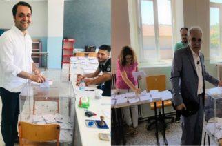 Έβρος: Οι υποψήφιοι βουλευτές άσκησαν το εκλογικό τους δικαίωμα (φωτό)