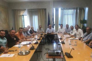 Αυτοψία, σύσκεψη και συγκεκριμένες προτάσεις-μέτρα της Περιφέρειας για τις πληγείσες περιοχές απ' την κακοκαιρία
