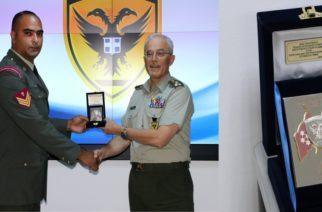 Εβρίτης στρατιωτικός κατασκεύασε συσκευή εξ' αποστάσεως αφόπλισης και εξουδετέρωσης ναρκών και βραβεύθηκε απ' τον Αρχηγό ΓΕΣ