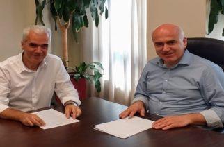 Συνάντηση του νέου δημάρχου Σουφλίου Παναγιώτη Καλακίκου με τον Περιφερειάρχη ΑΜ-Θ Χρήστο Μέτιο