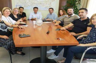 Συνάντηση-συνεργασία του Αντιπεριφερειάρχη Δημήτρη Πέτροβιτς με το νεοεκλεγέν Δ.Σ της ΕΠΟΦΕ