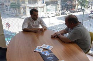 """Χρήστος Δερμεντζόπουλος: """"Ζητάω απ' τους συμπατριώτες μου να με εμπιστευθούν, για ένα νέο ξεκίνημα στον Έβρο"""""""