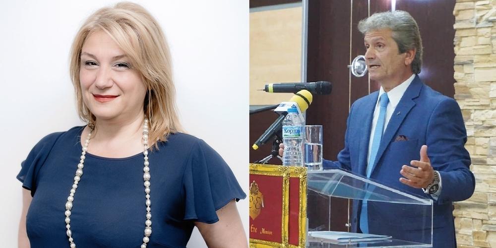 Ο Ιατρίδης και η Ελευθεριάδου δεν είναι Χριστιανοί υποψήφιοι στη Ροδόπη; Μόνο ο Στυλιανίδης είναι;