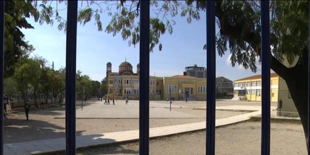 Αλεξανδρούπολη: Η απερχόμενη δημοτική αρχή Λαμπάκη κόβει δέντρα και στην αυλή του 1ου Δημοτικού Σχολείου!!!
