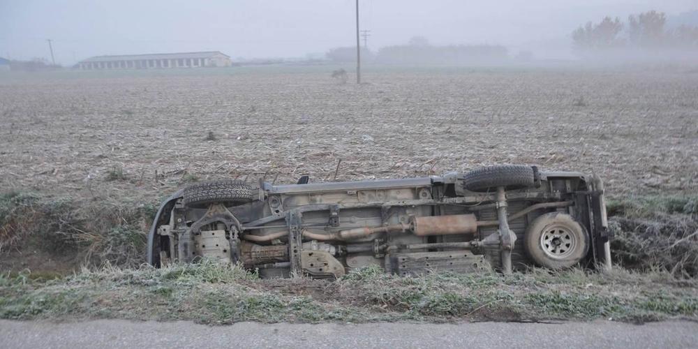 Τραγωδία στον Έβρο: Ζευγάρι πνίγηκε όταν έπεσε με το αυτοκίνητο σε αρδευτικό κανάλι