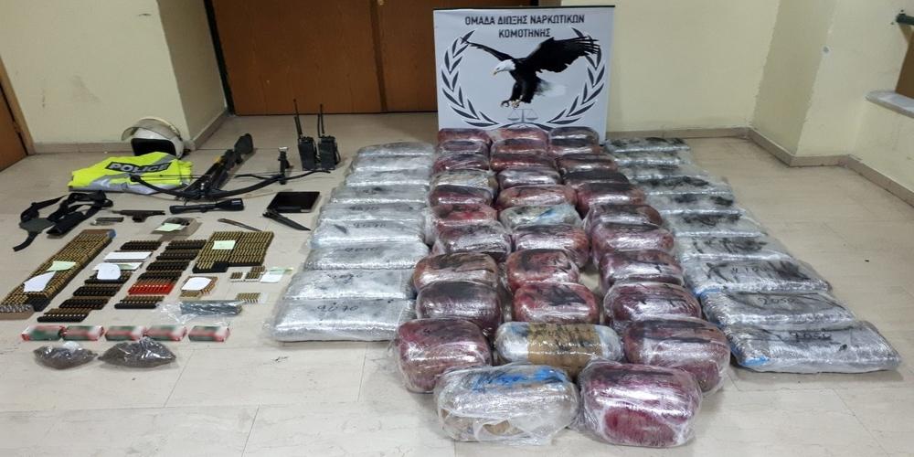 Επίσημη ανακοίνωση της ΕΛ.ΑΣ για την σύλληψη 4μελούς σπείρας (δύο Εβρίτες) με 115 κιλά ναρκωτικά