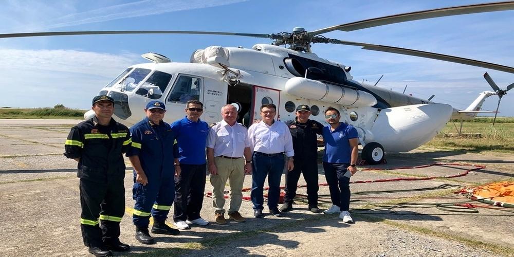 Έφτασε -επιτέλους- στην Αλεξανδρούπολη το Πυροσβεστικό ελικόπτερο – Τέλος από του χρόνου η καθυστέρηση