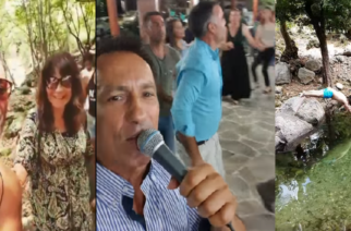 Σαμοθράκη: Ο Πέτρος Ίμβριος ξενάγησε την Χριστίνα Μαραγκόζη και τραγούδησε για τους συντοπίτες του (ΒΙΝΤΕΟ)