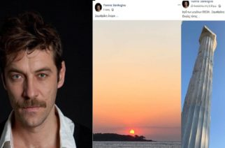 """Γιάννης Στάνγογλου: """"Σαμοθράκη όνειρο…""""- Ο Εβρίτης κορυφαίος ηθοποιός ήρθε για διακοπές και την… αποθεώνει"""