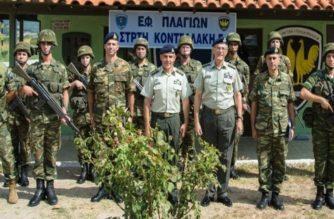 Ξαφνική επίσκεψη χθες του Αρχηγού ΓΕΣ στον Έβρο και επιφυλακή στην 12η Μεραρχία (φωτό)