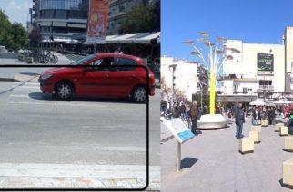 """Ορεστιάδα: """"Αόρατες"""" διαβάσεις πεζών στο κέντρο της πόλης – Φόβοι μήπως υπάρξουν ατυχήματα"""