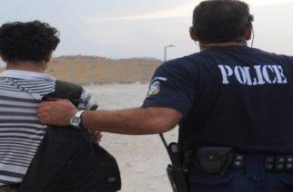 Συνέλαβαν 41χρονο στο Τυχερό, ενώ καθοδηγούσε πεζός λαθρομετανάστες
