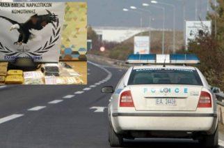 Μπλόκο σε δυο άτομα έξω από την Αλεξανδρούπολη και σύλληψη με 6 κιλά ηρωίνης