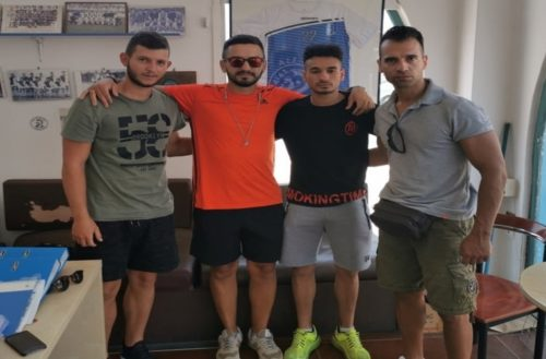 Δυο Εβρίτες ποδοσφαιριστές απέκτησε ο ιστορικός Αίας Σαλαμίνας, που έχει και Εβρίτη γενικό αρχηγό