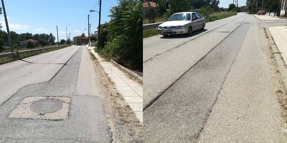 Σουφλί: Κεντρικός δρόμος-καρμανιόλα, με συνεχή ατυχήματα (ένα ακόμα χθες) εδώ και 2,5 χρόνια