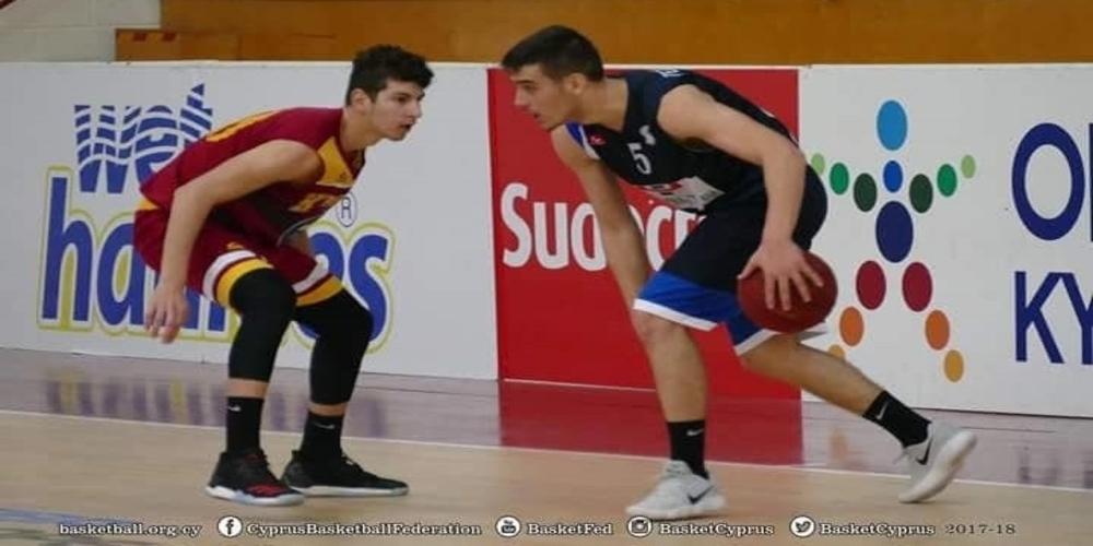 Ο Εβρίτης Δημήτρης Γεωργακούδης εντυπωσιάζει στην Κύπρο με την ομάδα μπάσκετ της Ομόνοιας Λευκωσίας