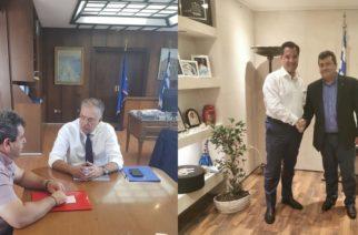 Συναντήσεις του νέου δημάρχου Σαμοθράκης Νίκου Γαλατούμου με Άδωνι Γεωργιάδη και Θεοδωρικάκο