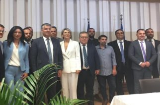 Παραφωνία οι… αστειότητες της παράταξης Τοψίδη στην σημερινή ορκωμοσία του νέου Περιφερειακού Συμβουλίου
