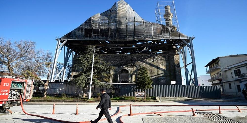 Τέμενος Βαγιαζήτ: Το πόρισμα του Υπουργείου Πολιτισμού για την καταστρεπτική πυρκαγιά και οι αντιδράσεις