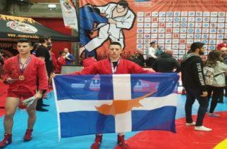 Βασίλης Αποστολακούδης: Ένας Εβρίτης, πρωταθλητής Κύπρου σε JUDO και SAMBO
