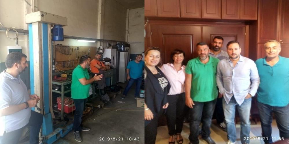 Αλεξανδρούπολη: Επίσκεψη Προέδρου ΠΟΕ ΟΤΑ Ν.Τράκα και συνάντηση με εργαζομένους και το νέο δήμαρχο Γιάννη Ζαμπούκη