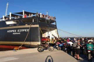 """Επιστρέφει Πειραιά το AZORES EXPRES – Στον """"αέρα"""" και πάλι η ακτοπλοϊκή σύνδεση Σαμοθράκης-Αλεξανδρούπολης"""