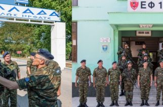 Επίσκεψη Αρχηγού ΓΕΣ στην περιοχή Ευθύνης 16ης και 12ης Mεραρχίας και 50 Ταξιαρχίας