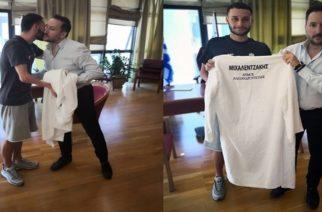 Αλεξανδρούπολη: Συνάντηση του Δημάρχου Γιάννη Ζαμπούκη με τον Παραολυμπιονίκη Δημοσθένη Μιχαλεντζάκη