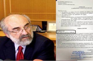 """Λαμπάκης: Δεν ντρέπονται όσοι τον κατηγορούν; """"Κυνήγησε"""" να εισπράξει ακόμα και 9,07 ευρώ από επαγγελματία!!!"""
