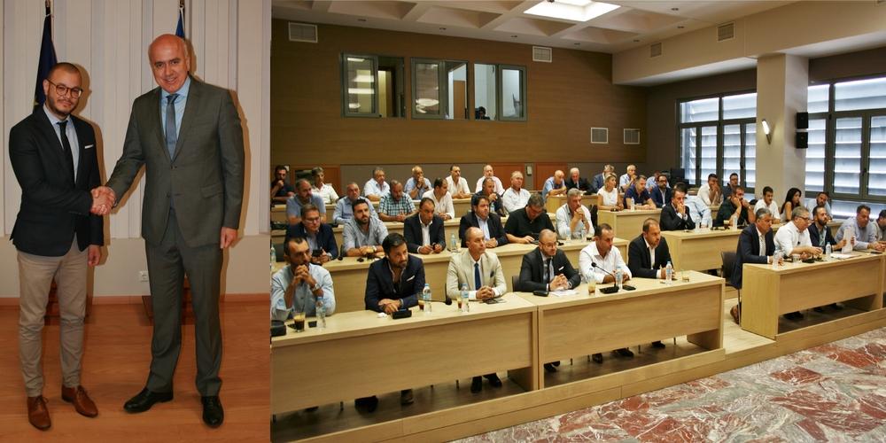 Ο Χρήστος Παπαθεοδώρου νέος Πρόεδρος Περιφερειακού Συμβουλίου – Στην Οικονομική Επιτροπή ο Εβρίτης Βασίλης Δελησταμάτης