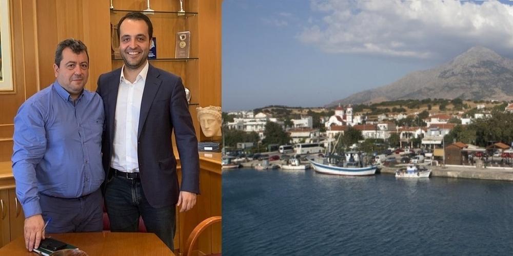 """Δερμεντζόπουλος: """"ΗΣαμοθράκη θαέχειεξασφαλισμένη τηνσυγκοινωνίατης όλητηνδιάρκεια του χρόνου"""""""
