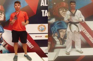 Ασημένιο μετάλλιο ο Γιώργος Αδαμάκης του ΑΣΓ Tae Kwon do Διδυμοτείχου, στο Albanian Οpen G1