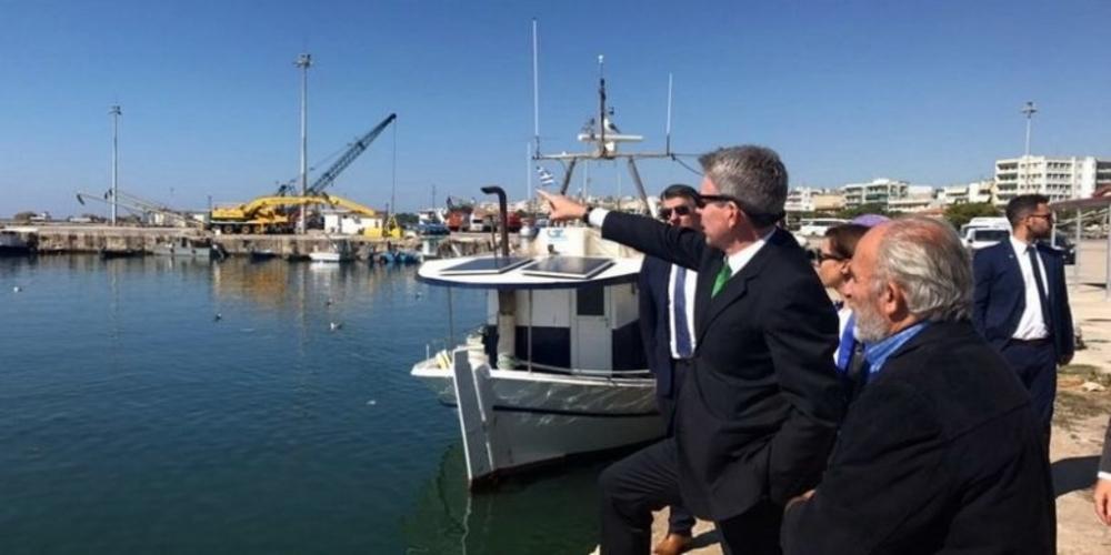 Επίσκεψη του Αμερικανού Πρέσβη Τζέφρι Πάιατ στην Αλεξανδρούπολη – Μαζί και ο υπουργός Εθνικής Άμυνας Νίκος Παναγιωτόπουλος