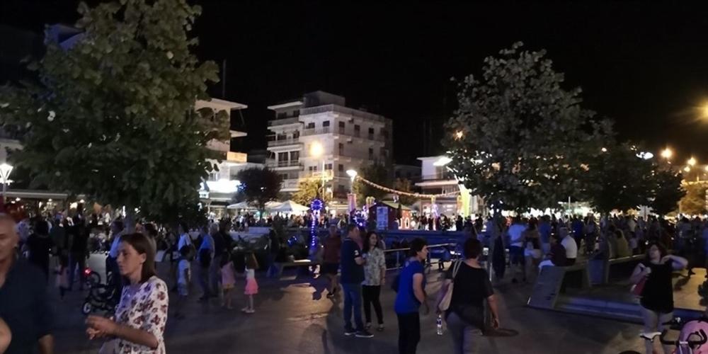 Λευκή Νύχτα Ορεστιάδας: Αύξηση τζίρου 300% στα καταστήματα εστίασης, εξάντληση αποθεμάτων στα εμπορικά!!!