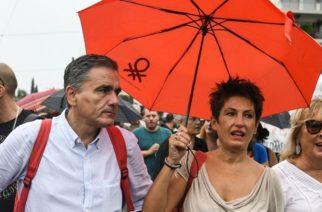 ΑΔΕΔΥ: «Απύθμενο το θράσος του κ. Τσακαλώτου η συμμετοχή στη χθεσινή πορεία»