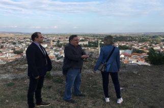 Η Πρέσβης της Σουηδίας στο Διδυμότειχο, όπου έζησε ο Σουηδός Βασιλιάς Κάρολος ΧΙΙ – Συνάντηση με τον δήμαρχο