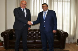 Ο νέος κάθετος άξονας σύνδεσης Ελλάδας-Βουλγαρίας στον Εχίνο Ξάνθης, συζητήθηκε μεταξύ Μέτιου-Νομάρχη Σμόλιαν