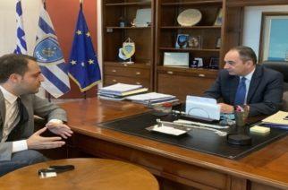 Συνάντηση Δερμεντζόπουλου-Πλακιωτάκη: Συζήτησαν για την ακτοπλοϊκή σύνδεση Σαμοθράκης-Αλεξανδρούπολης αλλά και με Λαύριο