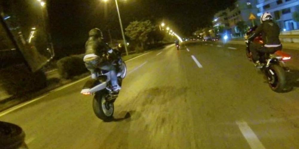 Έφοδος της Τροχαίας Αλεξανδρούπολης εντόπισε δεκάδες παραβάσεις σε νυχτερινές κόντρες μοτοσυκλετιστών