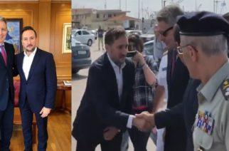 Τι συζήτησαν ο δήμαρχος Αλεξανδρούπολης Γιάννης Ζαμπούκης και ο Αμερικανός πρέσβης Τζέφρι Πάιατ