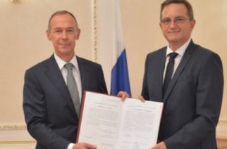 Επίτιμος πρόξενος της Ρωσίας στην Αλεξανδρούπολη ανέλαβε ο ξενοδόχος Κωνσταντίνος Παλακίδης