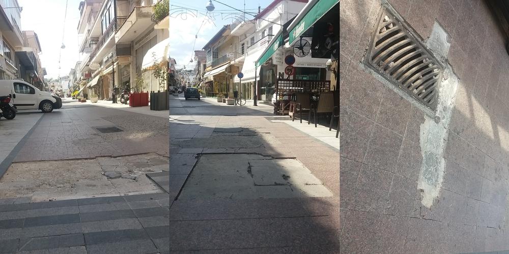 Διδυμότειχο: Να κηρυχθούν οι λακκούβες του πεζόδρομου… διατηρητέα μνημεία, ως ανάμνηση της δημαρχίας Πατσουρίδη!!!